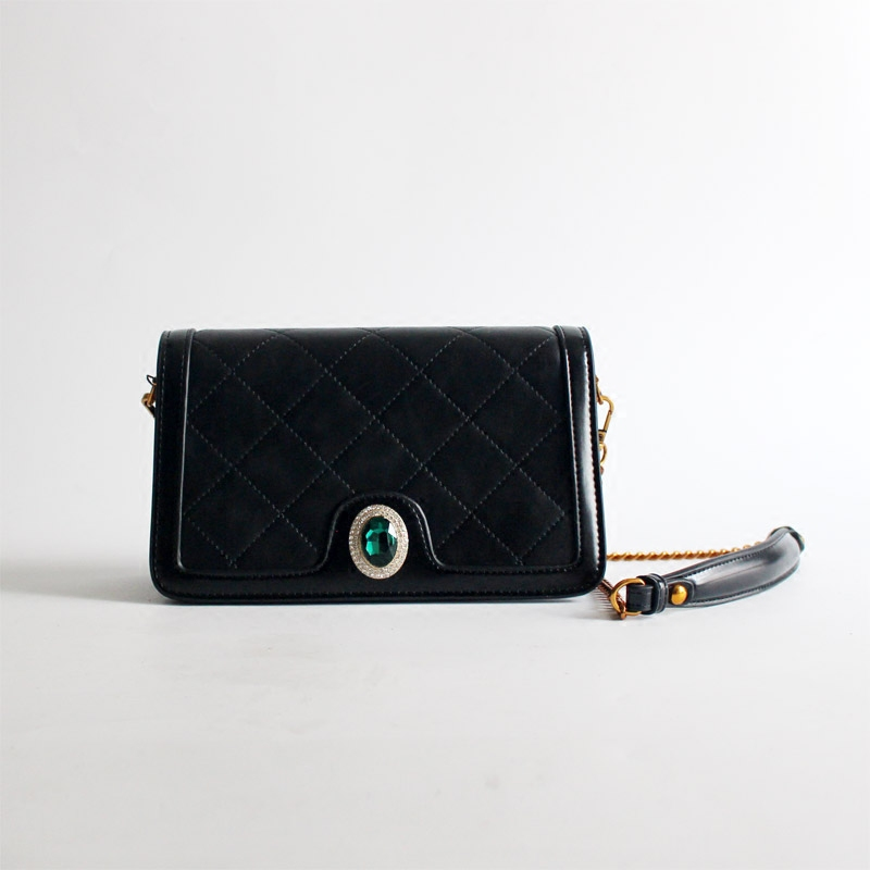 Lady Fine Handbags Women Messenger Black Rhombus Bags Genuine Leather Cowhide Ladies Diamonds Party Chains BagLady Fine Handbags Women Messenger Black Rhombus Bags Genuine Leather Cowhide Ladies Diamonds Party Chains Bag