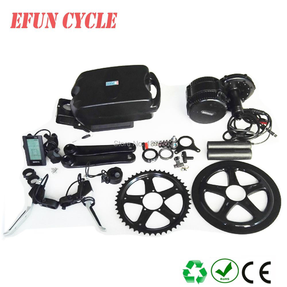 Free shipping 8Fun/Bafang BBS01B 36V 250W mid drive motor kits with 36V 16Ah little frog battery for fat tire bike/city bikeFree shipping 8Fun/Bafang BBS01B 36V 250W mid drive motor kits with 36V 16Ah little frog battery for fat tire bike/city bike
