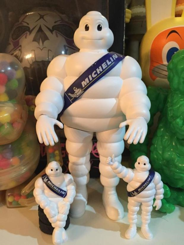 New Arrival Cartoon Sitting or Standing Michelin Tire lovely Doll White Fat White Tire Doll, Three Styles Optional