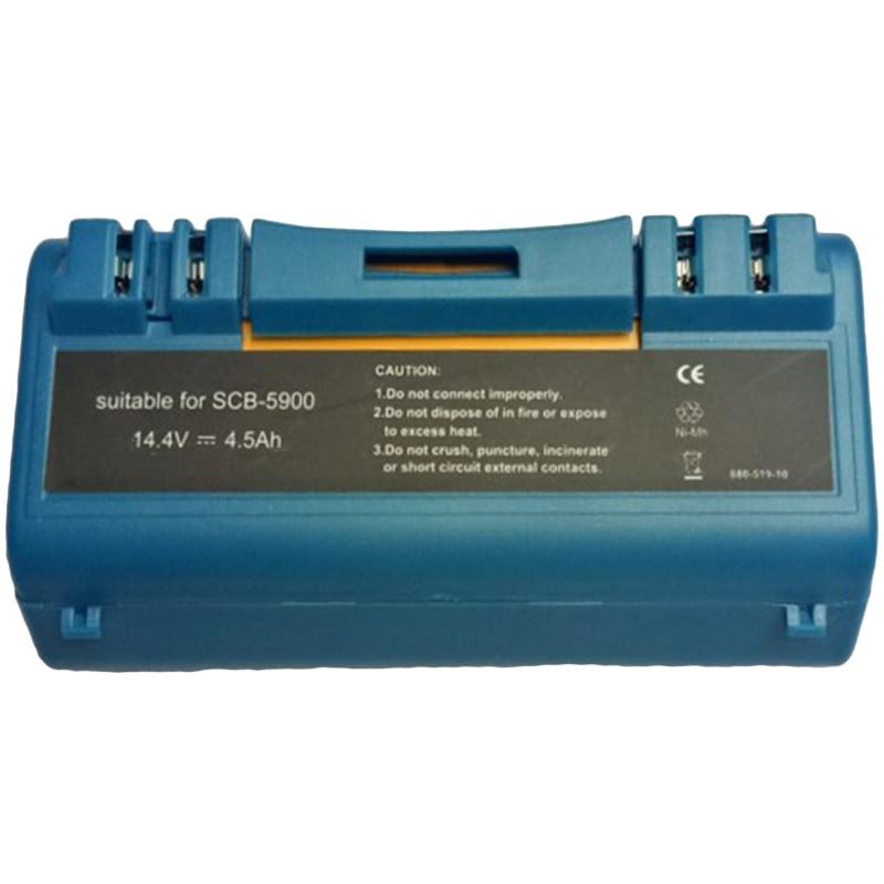 Hot Sale 14.4V 4.5Ah Ni-Mh Replacement Vacuum Cleaner Battery For Irobot Scooba 330 340 350 380 385 390 5900 5800 Robotic Batt