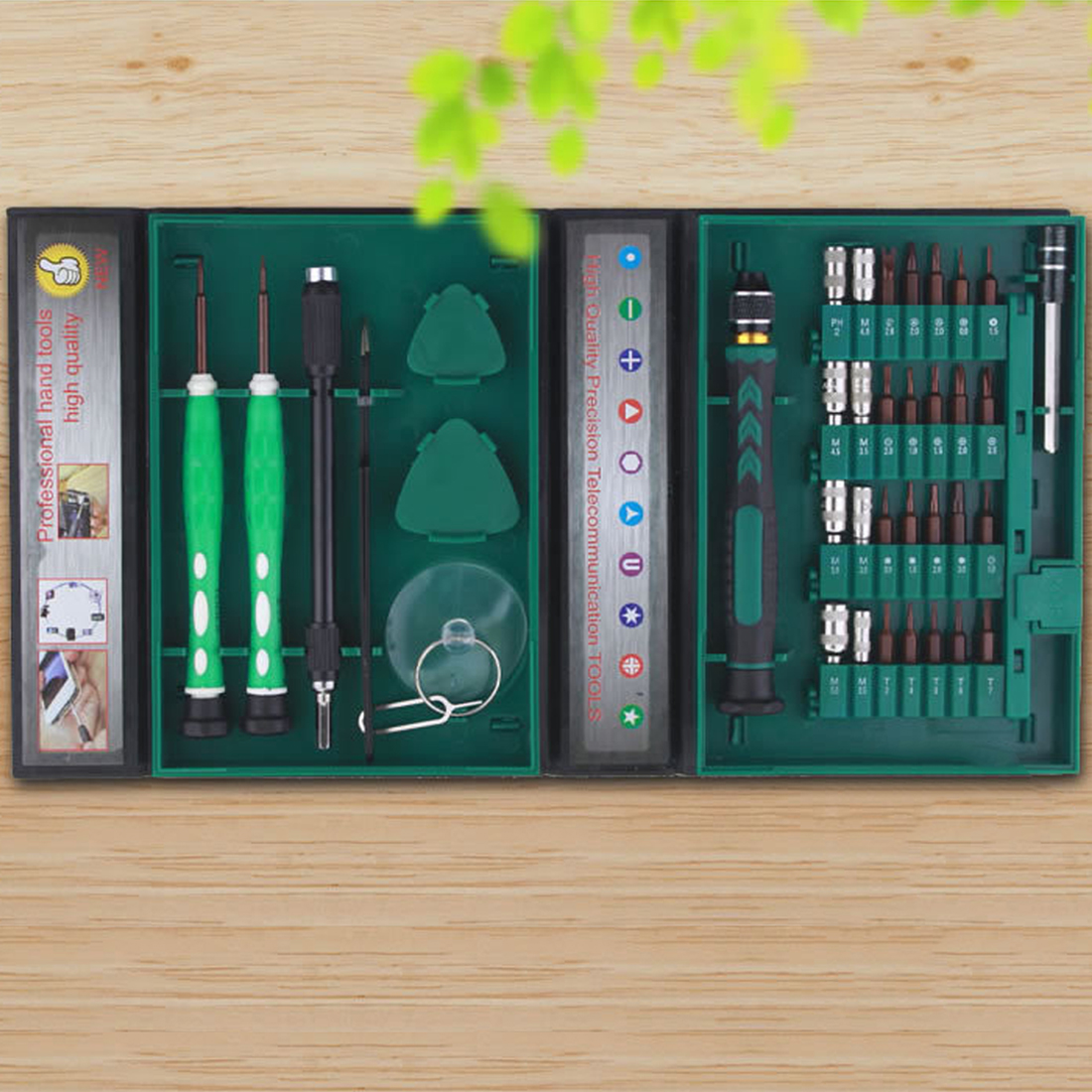 Precision Repair Tools Kit S2 Alloy Steel Material Tool 38 in 1 Screwdriver Set for Cell Phone iPhone for NotebookPrecision Repair Tools Kit S2 Alloy Steel Material Tool 38 in 1 Screwdriver Set for Cell Phone iPhone for Notebook