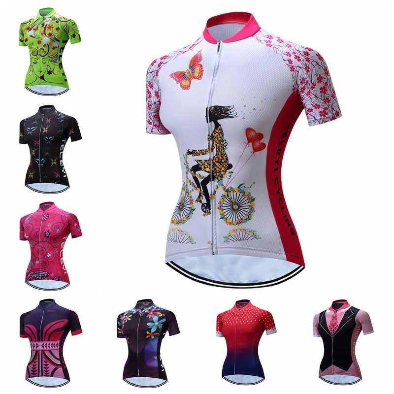 Weimostar летняя велосипедная майка женская с коротким рукавом быстросохнущая велосипедная mtb Джерси Ciclismo дышащая велосипедная рубашка, велосипедная Джерси