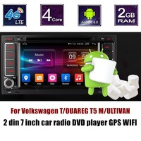 Bluetooth touch screen For Volkswagen TOUAREG T5 MULTIVAN Car Player radio car DVD GPS Steering Wheel Control