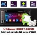Bluetooth tela sensível ao toque Para V/olkswagen/T OUAREG T5 M/ULTIVAN Jogador rádio do carro DVD GPS Do Carro Controle Da Roda de direcção