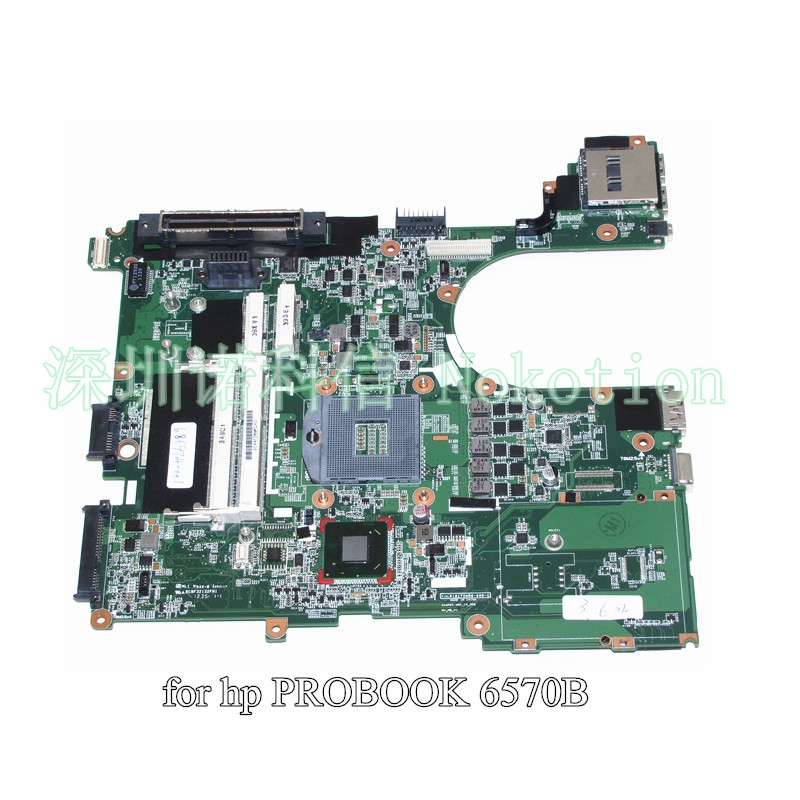 NOKOTION 686974-601 686974-001 for HP Probook 6570B Laptop motherboard SLJ8A HM76 DDR3 654306 001 fit for hp probook 4535s series laptop motherboard 1gb ddr3 socket sf1 100% working