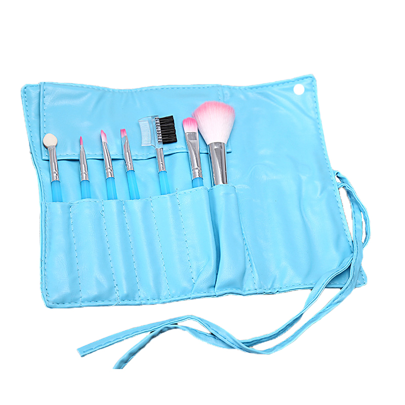 Professional 7 PCS Makeup Brushes Set Tools Make up Toiletry Kit Wool Brand Make Up Brush Set Case Cosmetic Foundation Brush in Eye Shadow Applicator from Beauty Health
