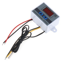 XH-W3301 220V 1500W Digital LED Temperature Controller Switch with Indicator Light &Waterproof Probe for -50~110 Degrees Celsius стоимость