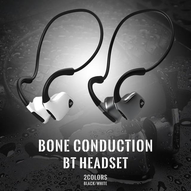 New Arrival R9 Bone Conduction Bluetooth Earphone Light Weight Waterproof Sports Headset Earbuds Headphones Drop Shipping
