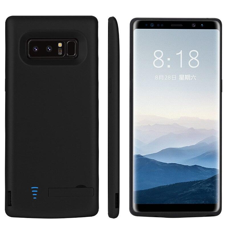 6500 mah Batterie Cas pour Samsung Note8 USB Alimentation Couvre pour Galaxy N9500 Housse De Protection Cas De Mode Conception