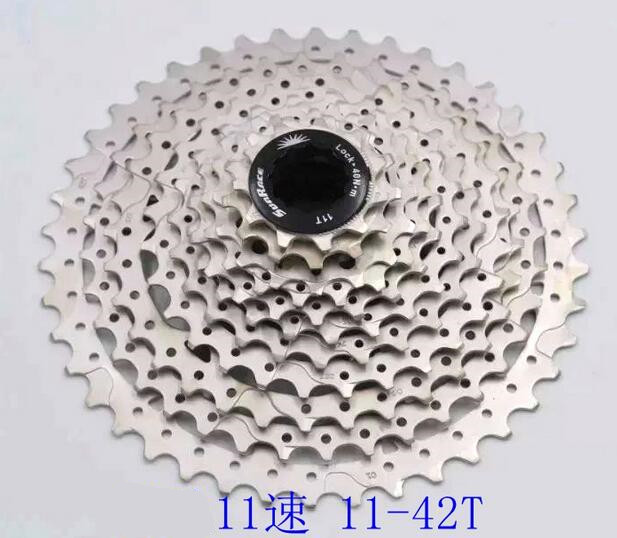 ФОТО 2016 NEW ultralight SunRace CSMS8 11-40T 11-42T 11 Speed Wide Ratio flywheel Cassette for M8000/M9000 sram XX1 X01 X1 GX Usable