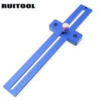 Marking Gauge 270mm Mortise Angle Ruler Metric Scriber Marking Gauge For Hinge Doweling Carpenter Woodworking Tools