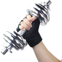 цена на Anti Slip Weight Lifting Half Finger Fitness Gloves Tactical Breathable Sports Gym Training Workout Outdoor Bycicle Exercise