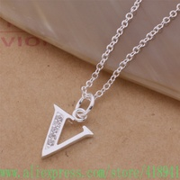 925 sterling silver Necklace 925 silver fashion jewelry pendant /bfqajwxa amlajdsa AN228