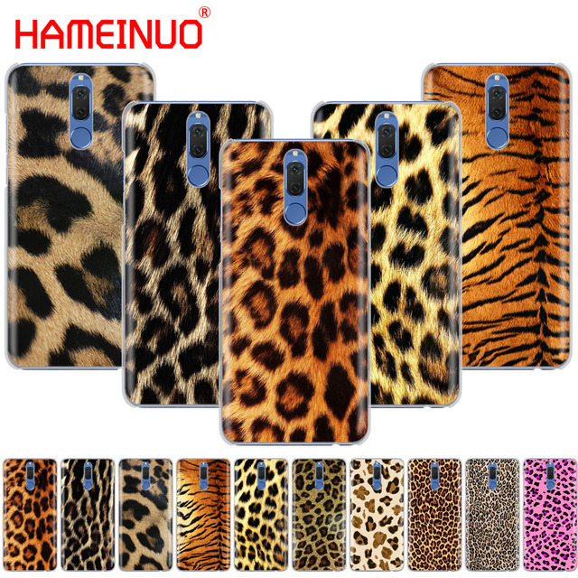3d18f3216f67 US $1.64 34% OFF|HAMEINUO Tiger Leopard Print Panther Photo phone Case for  Huawei NOVA 2 2S 3e PLUS LITE p smart 2018 enjoy 7s mate 7 8 9 10 pro-in ...