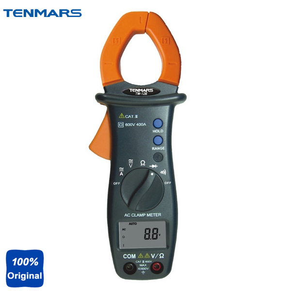 Automatic Shift AC Digital Clamp Table Handheld Clamp Meter TM12E цена