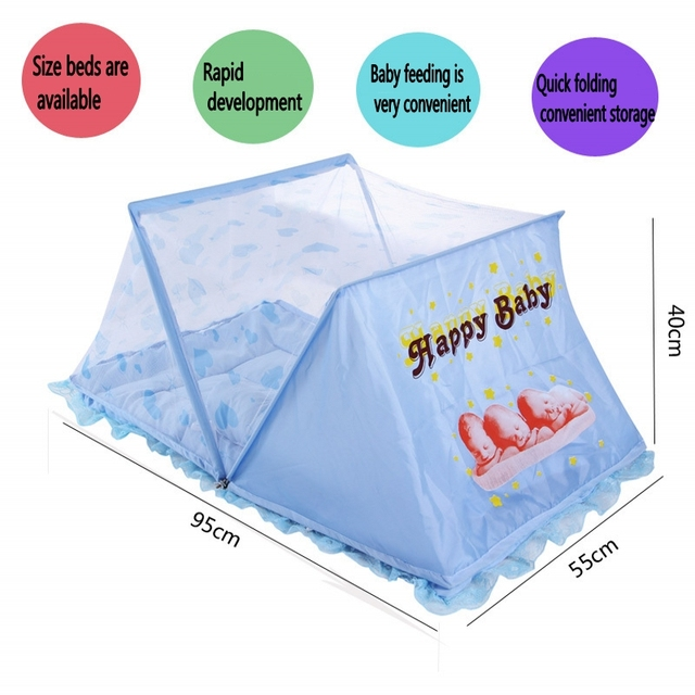 Baby Mosquito Net Baby Bed Folding Portable Type Comfortable Mat