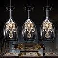 Gorgeous Vintage Botella de Vino moderno Minimalista LED de Luces De Techo 110 V 220 V 1-6 Luces de Techo de Acrílico Tonos (blanco)