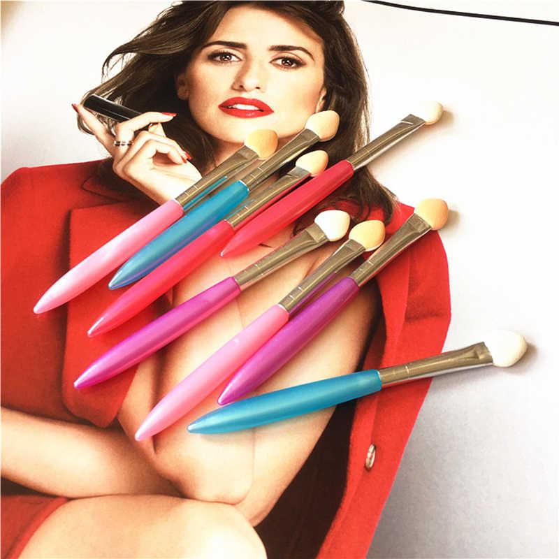 1 Pcs Makeup Mata Kuas Eyeliner Alat Aplikator Spons Kosmetik Eyeshadow Warna Acak