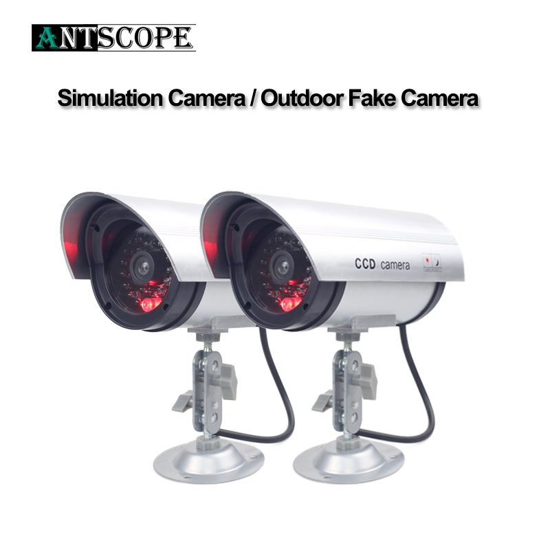 Waterproof CCTV Wireless Home Security Fake Camera Video Dummy Surveillance Indoor/Outdoor With LED Red Led Bullet Cameras 19 image