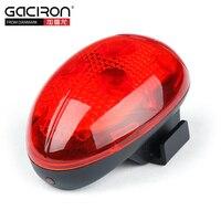 GACIRON Bicycle Sensor Rear Light Safety Warning Taillight MTB Road Bike Seatpost Flash LED Ultralight Lamp