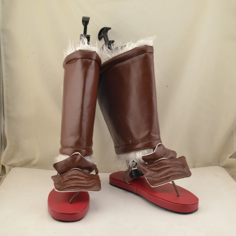 Fate Zero Rider Iskandar Anime Cosplay Shoes Boots Halloween Carnival Party Costume Accessory