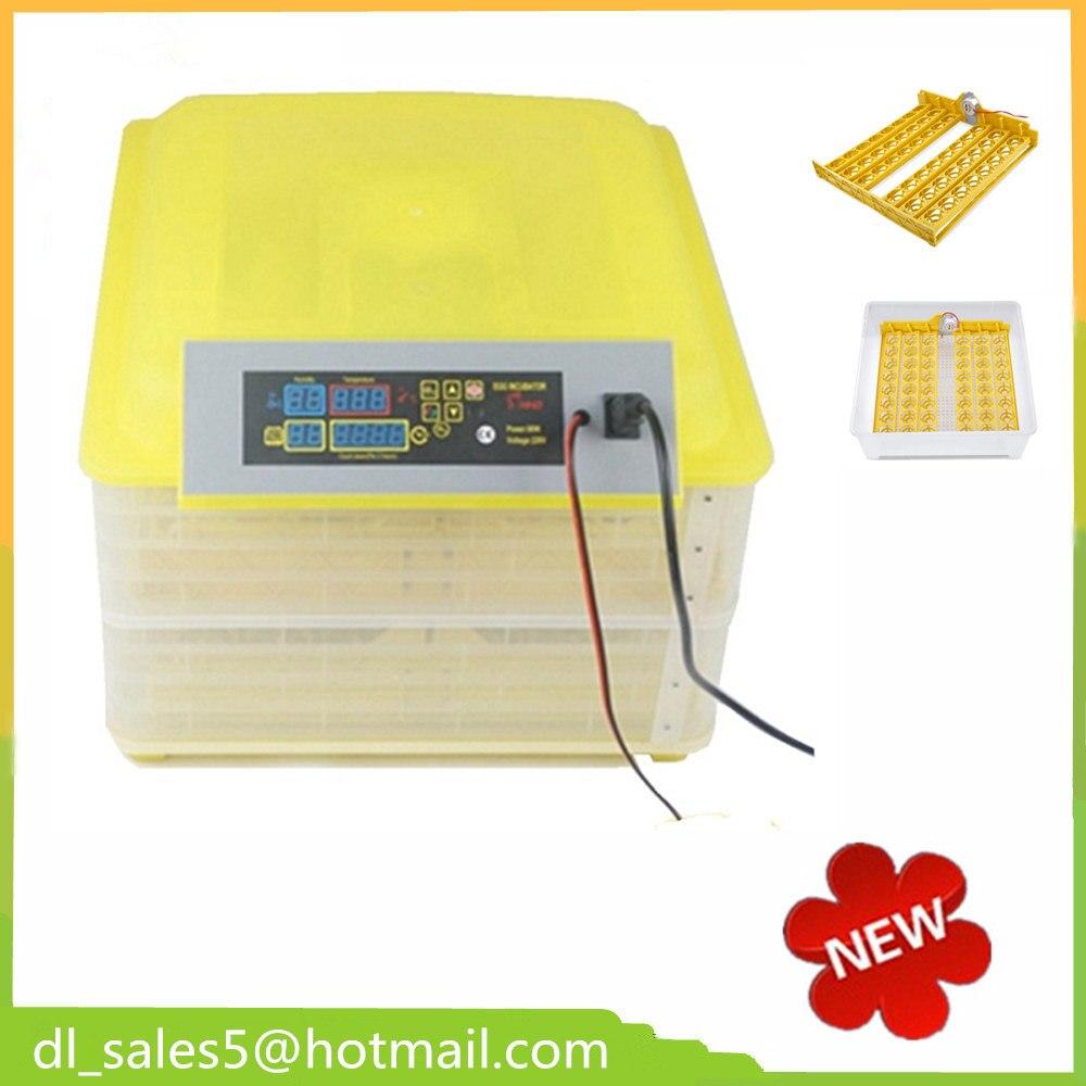 ФОТО  Shipping from China ! Automatic Egg Incubator 96 Eggs Quail Parrot Incubation Machine