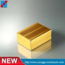 YGS-004 76*46-90mm (WxH-D) aluminum box electronics enclosure /aluminum pcb instrument box enclosure case project 100 100 60mm aluminum extrusion enclosure for electronics pcb
