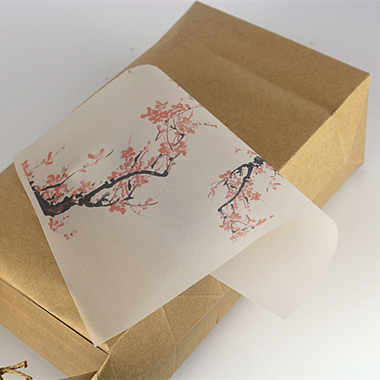 New Arrival 100PCS China Floral Handmade Soap Wrapping Paper Wax Paper Special for Homemade Soap Packing Greaseproof Paper-in Gift Bags & Wrapping Supplies ...