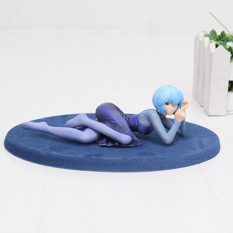 Anime Neon Genesis Evangelion EVA Figure Ayanami Rei Pre-Painted PVC Action Figures Collection Toy 4cm