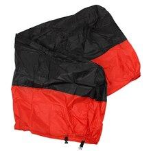 Брезент обложка мото мотоциклов Обложка Скутер Квадроцикл 245 см Размеры XL черный красный защиты