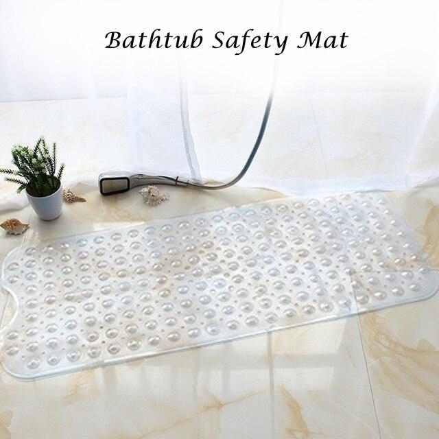 Anti Slip Zerbino Per Il Bagno Piano di Sicurezza Vasca Doccia Zerbino Antiscivolo Vasca Da Bagno Zerbino Con Ventose Grip Superiore di Grandi Dimensioni tappeti da bagno