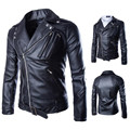 m to xxl leather jacket PU genuine leather mens punk winterMen's lapels are jaqueta de couro jaqueta motoqueiro veste cuir homme