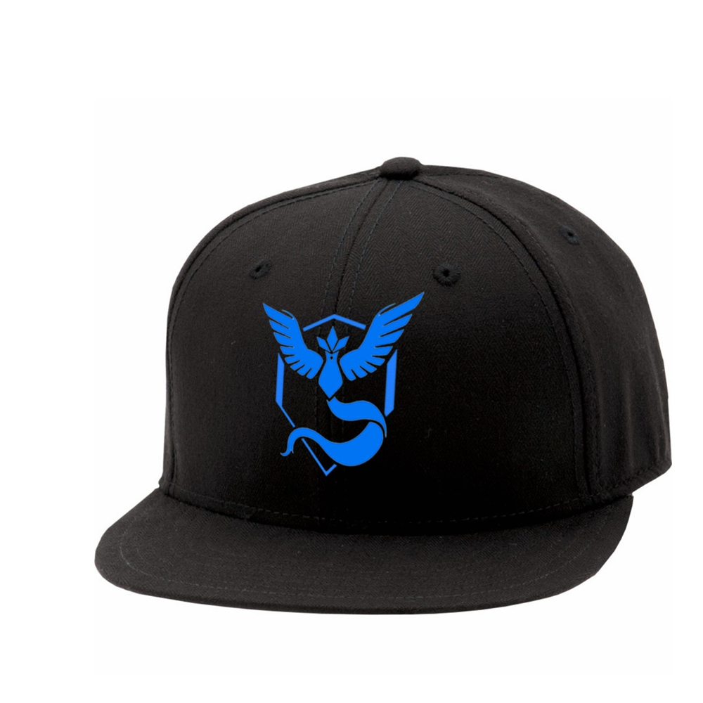X-COSTUME Pokemon Go Baseball Team Mystic InstInct Valor Cosplay Cap Men Women Cool Hip Hop Hats Christmas Gift Casual Caps
