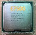 Оригинальный Intel Core 2 Duo E7500 Процессора 2.93 ГГц/3 М/1066 МГц Настольных LGA775 CPU (работа 100% Бесплатная Доставка)