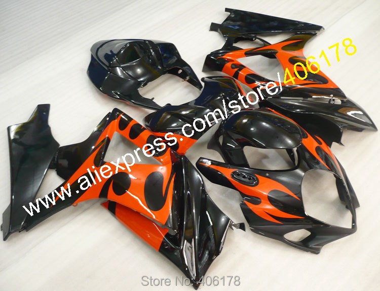 Hot Sales,Injection molding For Suzuki GSX R1000 2008 2007 GSX R 1000 K7 GSXR1000 07 08 Body Kit Fairing (Injection molding)