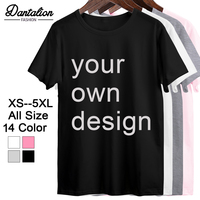 2019 ваш собственный дизайн фирменный логотип/изображение Белый пользовательские мужские и wo мужские футболки Плюс Размер Футболка мужская ...