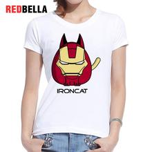 Ironcat Parody Print Kawaii Shirt