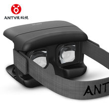 ANTVR 3D Folding Portable VR Glasses Box XiaoMeng Virtual Reality Headset Head-mounted for 4.7-6inch Android IOS iPhone Samsung
