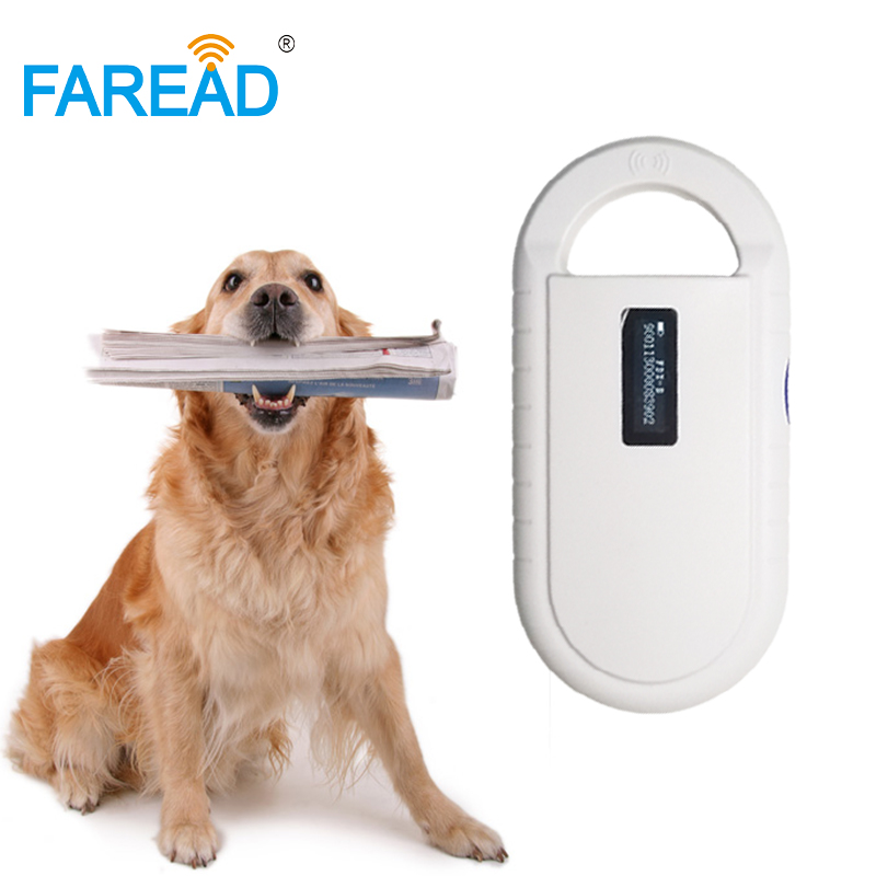 X1pc chien chat Animal De Poche USB Lecteur RFID 134.2 khz FDX-B puce scanner pour animaux