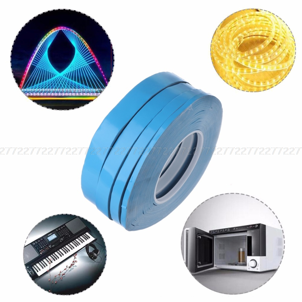 1PC 50M Double Sided Thermal Conductive Adhesive Tape for Chip PCB LED Heatsink Furniture Hardware JUN13 Dropshipping