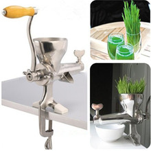 Juicer manual healthy wheat grass juicing machine for home use  ZF