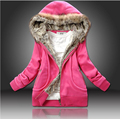 2015 winter jacket women plus size slim thickening liner cotton cap wadded jacket short cotton-padded jacket outerwear women