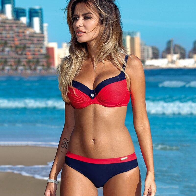 HTB1aVSRaW67gK0jSZFHq6y9jVXaB Chisalis Sexy Swimsuit Women Bikini 2019 Print Push Up Swimwear Women Brazilian Bikini Set Beach Bathing Suit biquini floral