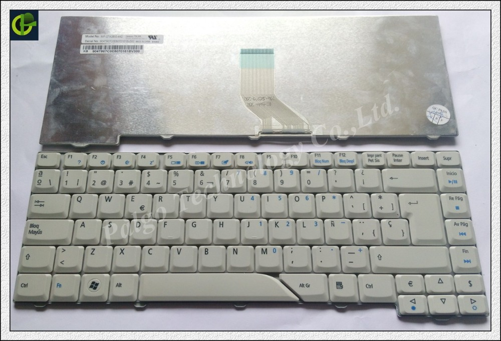 Spanish Keyboard For Acer Aspire 5715 5715z 5720g 5720z