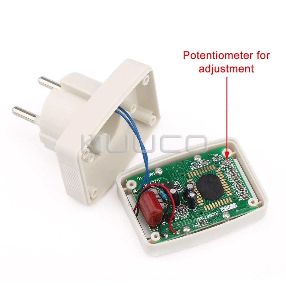 LCD voltmérő AC 80 ~ 300 V feszültségmérő AC 110 V / 220 V - Mérőműszerek - Fénykép 5