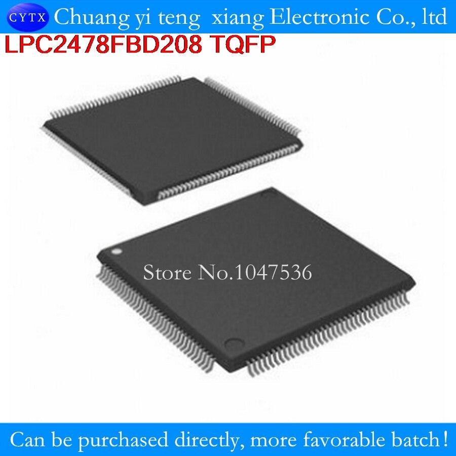 LPC2478FBD208 LPC2478 QFP 1pcs Single-chip 16-bit/32-bit ; 512 kB flash, Ethernet, CAN, LCD, USB 2.0 device/host/OTG