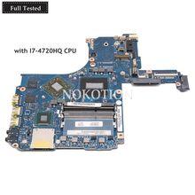 NOKOTION H000075410 VG20SQG 20CQG MB для TOSHIBA Satellite P50-C P55T P55T-B Материнская плата ноутбука I7-4720HQ Процессор R9 M265X GPU