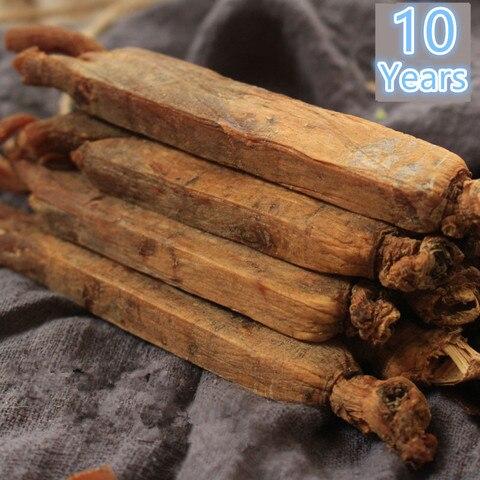 50g 1000g10 anos de alta qualidade vermelho coreano ginseng raiz seca aliviar a fadiga e