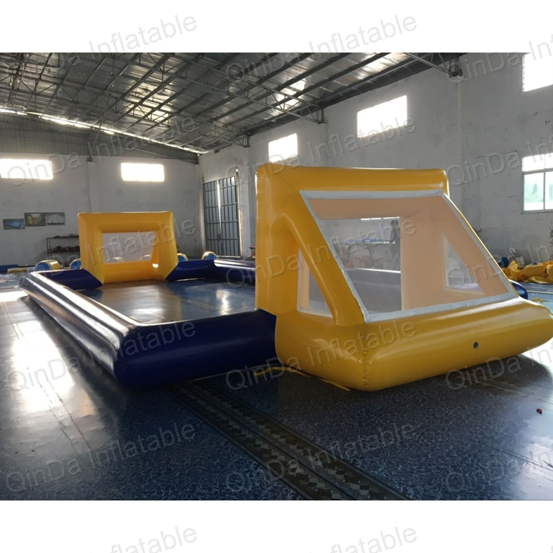 Guangzhou Qinda inflatable football field,football stadium, inflatable soccer stadium for adults newest adults