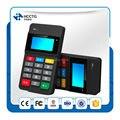 3-em-1 Bluetooth móveis MPOS terminal de pagamento com MSR Leitor + IC/chip NFC card reader & escritor com Display/Keypad-HTY711